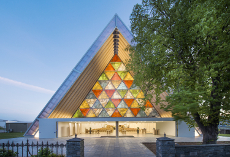 Cardboard Cathedral in Christchurch © Stephen Goodenough